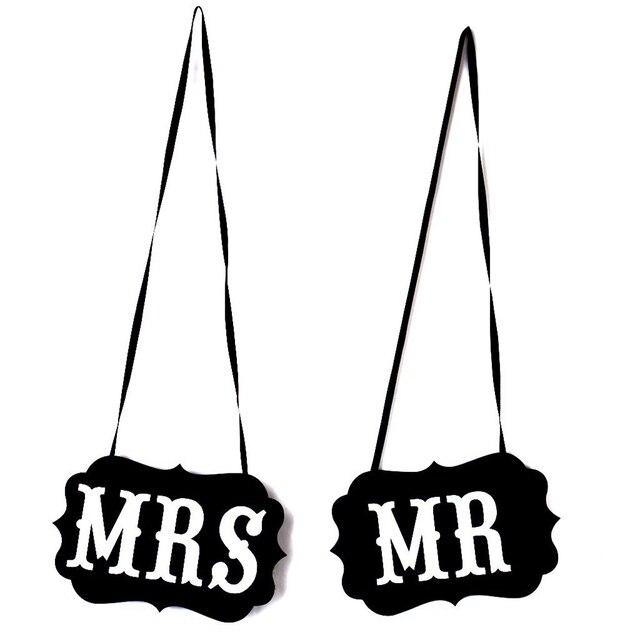 Mr Und Mrs Foto Requisiten Mr Und Mrs Stuhl Zeichen Hochzeit