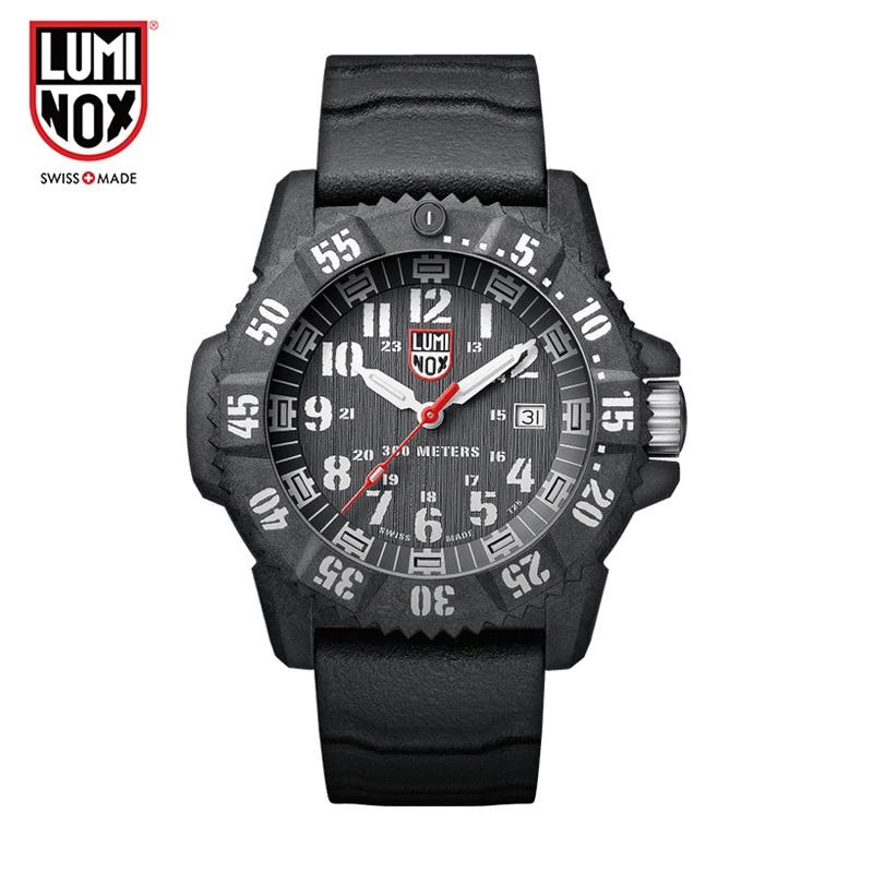 Luminox Made in Switzerland XS.3801 Sea series outdoor sports waterproof luminous quartz male watch цена и фото