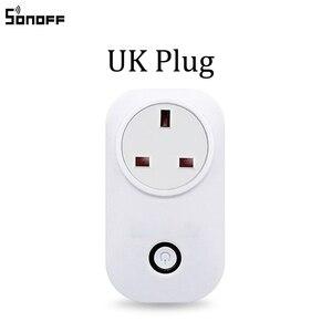 Image 4 - Sonoff S20 ue wtyczka UK US gniazdo zasilania z wi fi przełącznik aplikacja bezprzewodowa pilot zdalnego gniazdko przełącznik czasowy dla inteligentnego domu praca z Alexa