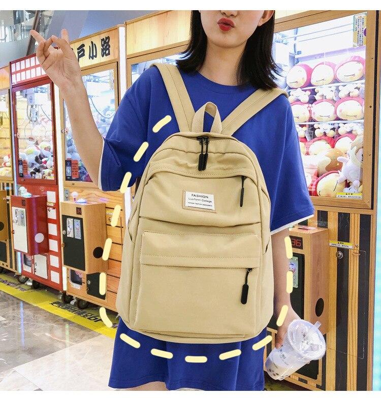 2019 New Backpack Women Backpack Fashion Women Shoulder nylon bag school bagpack for teenage girls mochila mujer