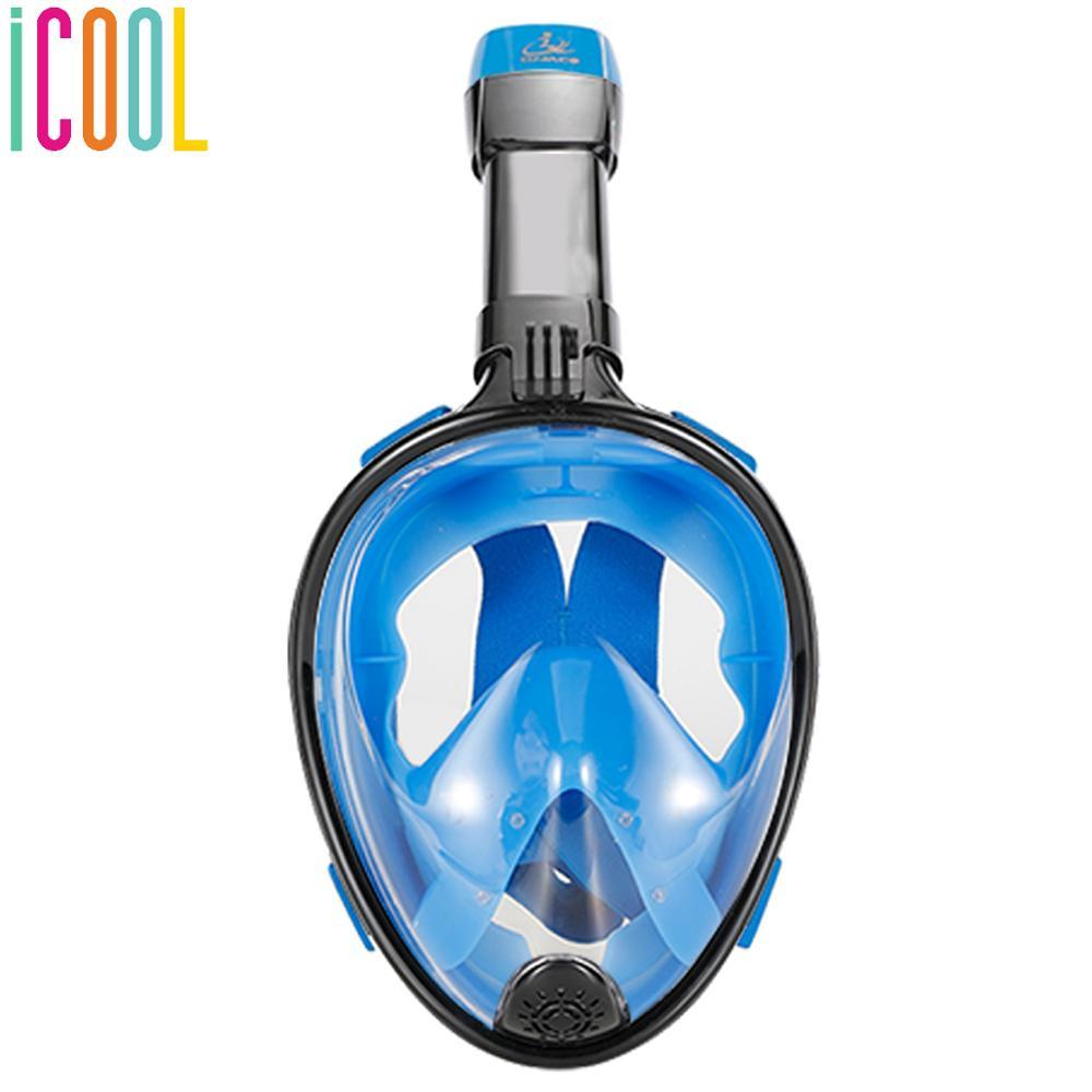Masque de plongée masque de plongée sous-marine masque de jeu Anti-buée masque de protection visage complet femmes hommes équipement de natation étanche