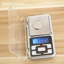 100/200/300g Mini Digital Weight Pocket Scales 0.1/0.01g LCD Display Electronic Scales for Gold Sterling Silver Scale Jewelry(China)