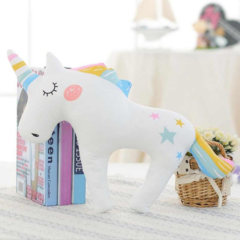 Рог единорога сна ребенка подушку ребенка Детская плюшевая игрушка подушкой принцесса кукла Детские милые игрушки для Декор для детских комнат