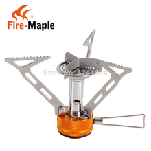 One-Piece Gas Stove Outdoor Camping Stainless Steel Gas Stove Folding Portable Cooker Fire Maple FMS-103 3000W 103g