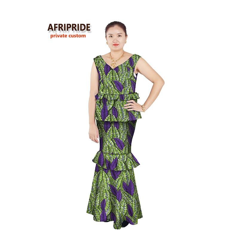 Afrička haljina za žene seksi stilovi afrički ženska odjeća - Nacionalna odjeća - Foto 2