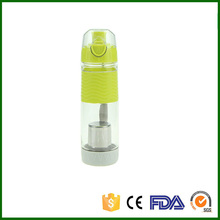 600 ml ciclismo deporte de la infusión de agua infusor fruta taza de jugo de lemon médica bicicleta ecológico bpa botella tapa de desintoxicación