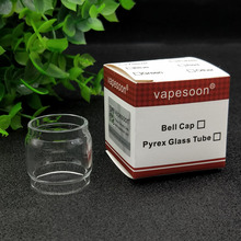 VapeSoon 3pcs/lot Replacement Cleito120 Glass Tube For Cleito 120 5ML Atomizer Clear Glass Tube