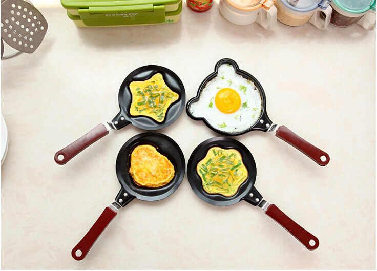 Utensilios de cocina creativos para el hogar, mini tortilla, utensilios de cocina antiadherentes, utensilios de cocina para el desayuno de niños y adultos, pícnic al aire libre, suministros esenciales