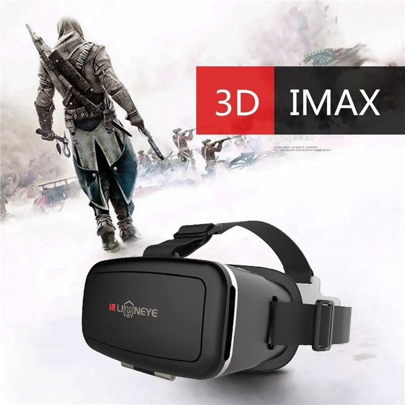 Olhos azuis vr cílios jogos de realidade virtual filmes 3d imax vr óculos de proteção fone de ouvido para iphone xiaomi sony gafas 3d assista vídeo
