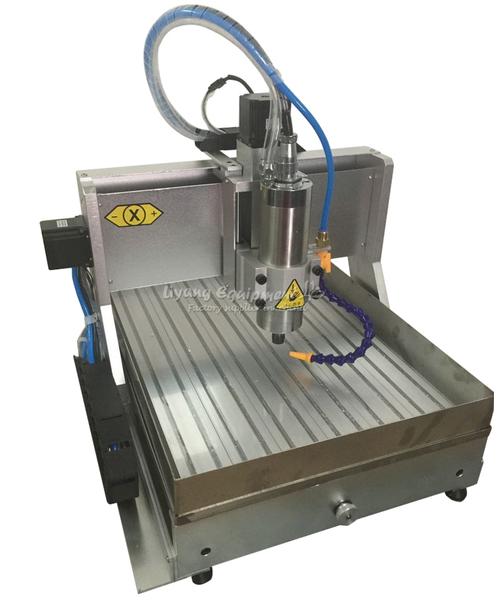 1.5KW CNC lathe LY3040 Z-VFD 3axis cnc router with water tank cnc engraving machine for wood working 3axis mini cnc router ly cnc3020z vfd1 5kw engraving machine with sink cnc cutting machine