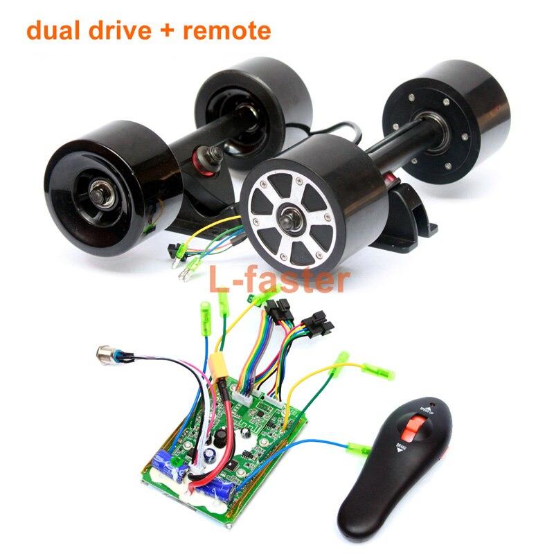 Electronic Longboard Hub Motor Kit Skateboard Brushless