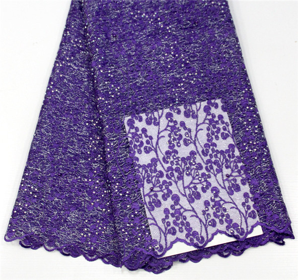 High-quality fabric with stone lace embroidery fabric, African French web fashion laceHigh-quality fabric with stone lace embroidery fabric, African French web fashion lace