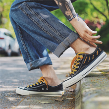 Fashion Men Outdoor Canvas Casual Slip-On Shoes Lazy Shoes Breathable Sneakers Flats Shoes summer shoe недорого