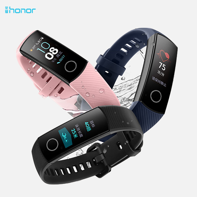 HUAWEI Honor Band4 Waterproof AMOLED TouchScreen PhoneCall Message Sport Android Smart Heart Rate Wristbands Watch Bracelet