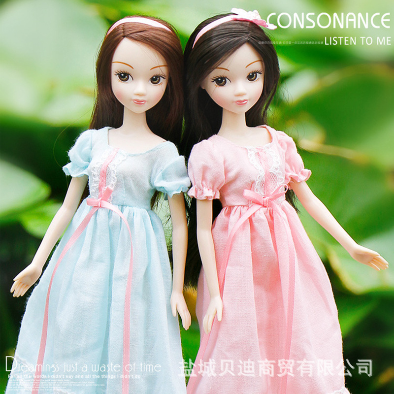 New Sale Sweet Fashion Girl Kurhn Doll Beautiful Gifts Box Flower Toys Doll For Girls Children Toys original winx club bloom musa beautiful girl magiche fan doll collection toys