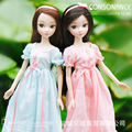 New Sale Sweet Fashion Girl Kurhn Doll Beautiful Gifts Box Flower Toys Doll For Girls Children Toys