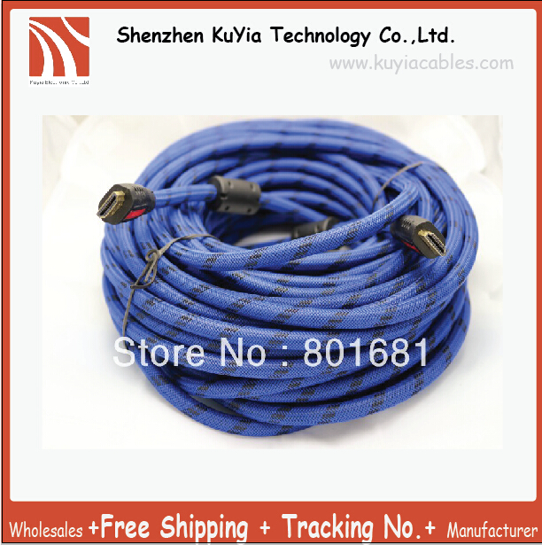 Hot Selling Free Shipping Super Valued 20M 67FT High Speed HDMI To HDMI Cable M M