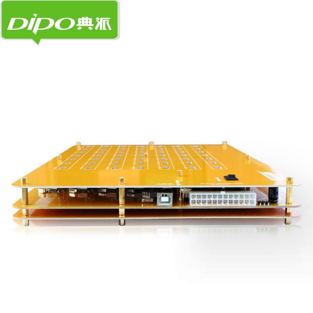 DIPO 2 4 7 10 16 19 20 49 Port USB-Hub USB 2.0 Hub-Ports für - Computer-Peripheriegeräte - Foto 6