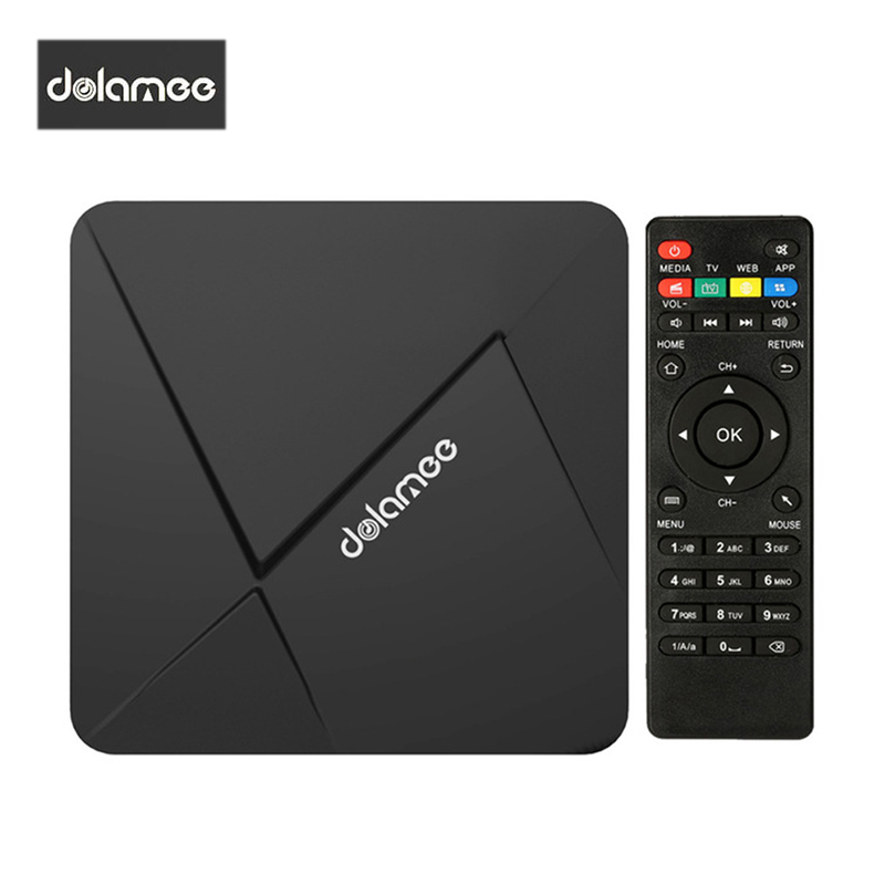 Dolamee D5 font b Android b font 5 1 Smart TV Box RK3229 Quad Core KODI