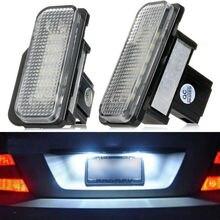 Krator 2 pcs Erro Livre O Número de LED License Plate Luz Para Mercedes Benz W203 W211 W219 E