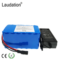 laudation 24V 8ah 10ah 24V12ah Electric Bike Battery 29.4V 12ah 18650 Battery for 250W 350W electric motorcycle with 15A BMS