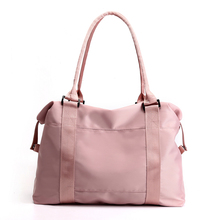 2019 Large Capacity Women Handbags Shoulder Bags Nylon Casual Travel Beach Tote Bag Solid Ladies Hand Bag Bolsas women tote bag lady casual waterproof hobo handbags female nylon fold up shoulder bags large capacity mummy shopping bag bolsas