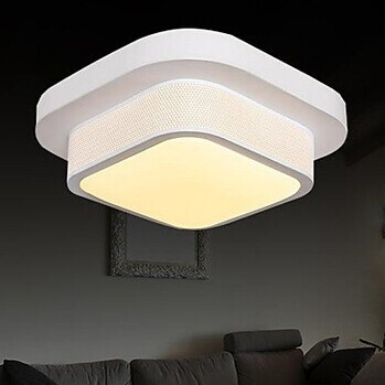 Surface Mounted Modern LED White Ceiling Lights For Living Room Light Fixtures,Bulb Included,Luminaria Lustres De Sala Teto surface mounted mediterranean glass led ceiling lights for living room and bedroom luminaria teto fashion ceiling lamp for home