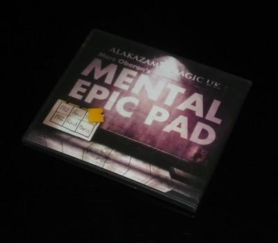Mental épica Pad ( truco + DVD ) - trick, envío gratis, fuego magia truco de magia juguetes clásicos