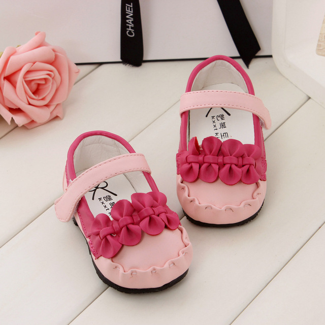 Zapatos de bebé zapatos de las muchachas suaves del niño del bebé de las muchachas walkers infantil lindo del bebé prewalkers
