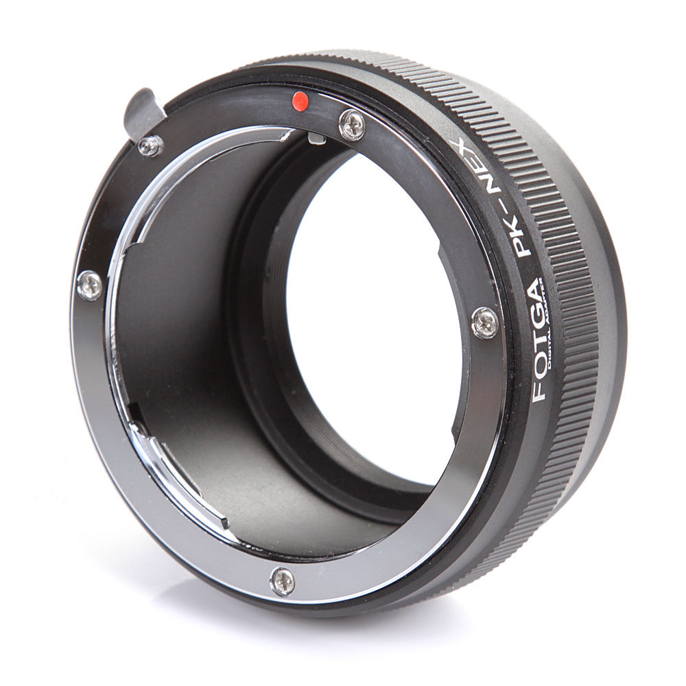FOTGA Lens Adapter Ring For Pentax K/PK Mount Lens To Sony E-Mount NEX3 C3 NEX5 NEX6