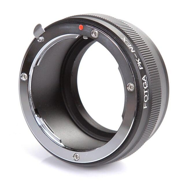 FOTGA עדשת מתאם טבעת עבור Pentax K/PK הר לסוני E הר NEX3 C3 NEX5 NEX6