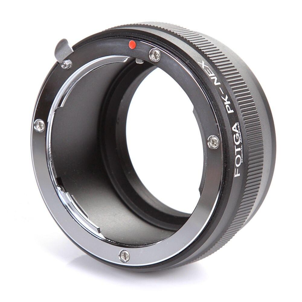 Fotga Adaptadores para objetivos anillo para Pentax K/PK montaje de la lente Sony e-mount nex3 C3 nex5 nex6