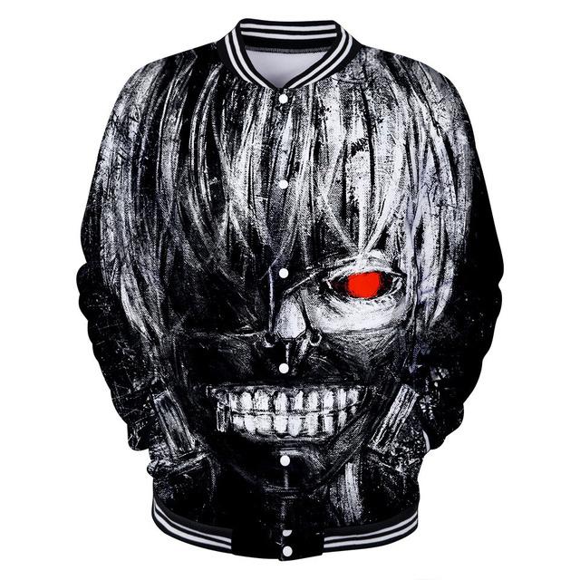 Tokyo Ghoul 3D Bomber Jacket