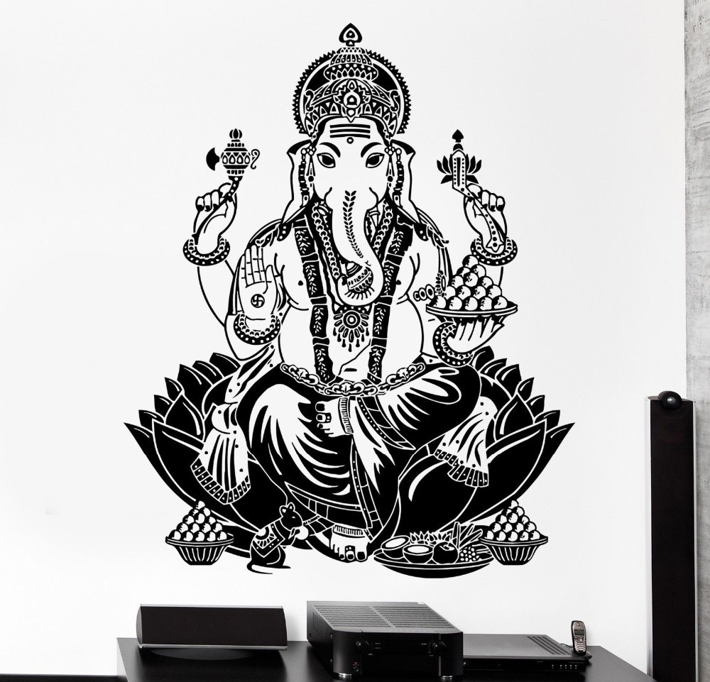 God Wallpaper Decor : Aliexpress buy buddha dance indian hinduism wall