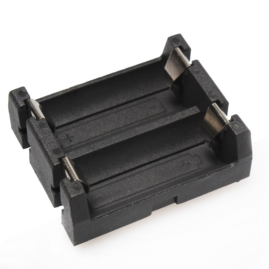 1PCS DIY 2-Slot CR123A/16340 Protective Cover Lithium Battery Storage Box Button Battery Holder Case Black With Pin маршрутизатор adsl tenda d305 300 мбит c беспроводной модем маршрутизатор adsl2 4 несъемные внешние антенны 5dbi rj11 dsl 4 порта lan порт usb