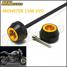 цены Free delivery For DUCATI MONSTER 1100 EVO 2011-2013  CNC Modified Motorcycle drop ball / shock absorber