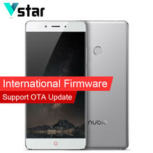 International firmware d'origine nubia z11 4g ram 64g rom snapdragon 820 Quad Core Mobile Téléphone 5.5 pouce Android Double SIM carte