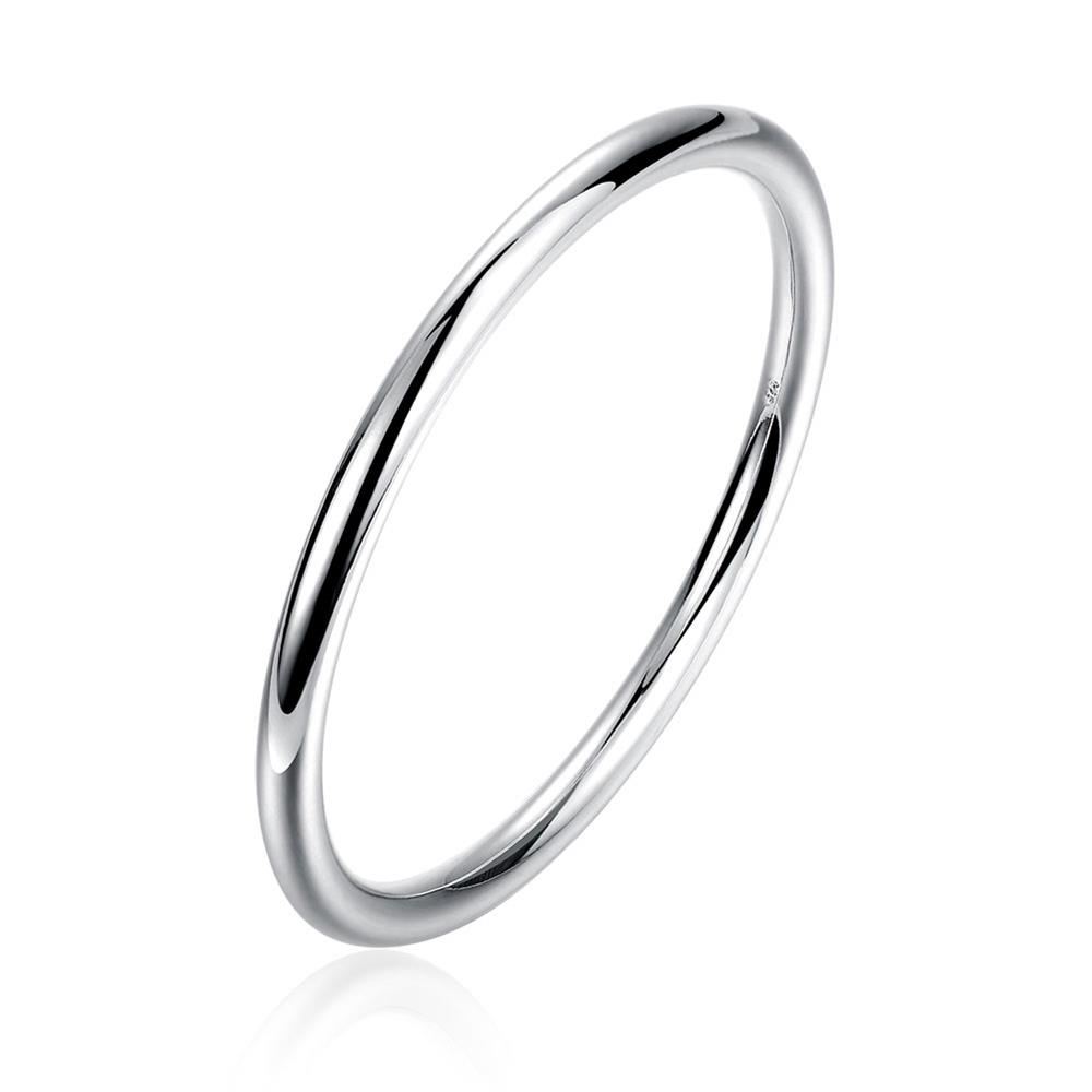 1 Circles Ring Titanium Steel Hard Stainless Steel Color Cuff Men Bracelets & Bangles for Women Fashion Bangles Ladies