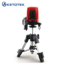 ACUANGLE A8826D 1V1H Laser Level Cross Laser Level Red Lines with AT280 Tripod Self leveling Laser