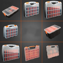 hot deal buy practical abs plastic screw tool storage box with locking screwdriver hardware accessories toolbox auto repair tool box