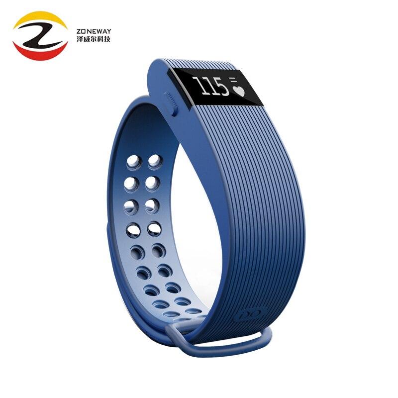 5 pcs ID105 Smart band Fitness Tracker BT4 0 Heart Rate Monitor Pulse Smart Bracelet Sports