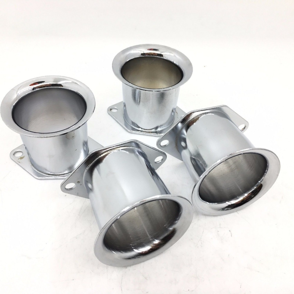 SherryBerg 4PCS Velocity Stacks Air Horn For WEBER 40/44/48IDF 40DCOE Pipe Trumpet  4 PIECES