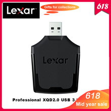 Lexar Professional XQD 2.0 USB 3.0 lecteur de carte XQD lecteur de carte haute vitesse dédié pour les images brutes et le transfert de fichiers vidéo 4K