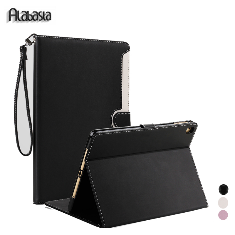 Case for iPad Air1 Alabasta PU Leather Skin Business Smatr Stand Case Auto Wake for Apple iPad 5 Air 9.7 inches proof shell pen case for ipad air1 alabasta pu leather