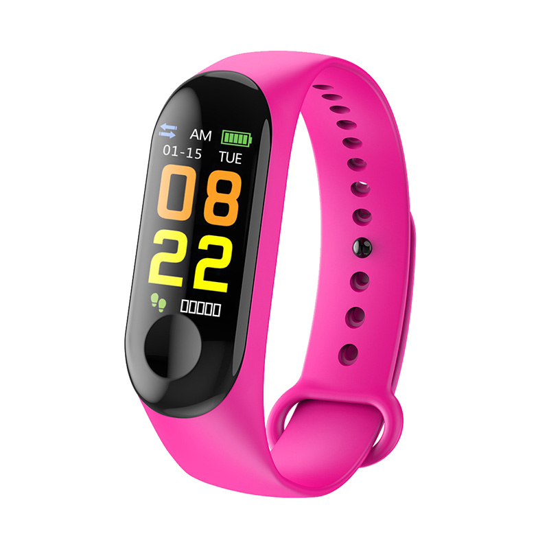 Child Smart wristband touch control sports watch health monitoring information push pedometer heart rate photography