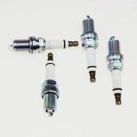 4Pcs Genuine Volkswagen Passat B5 1 8T Engine NGK Double Platinum Spark Plugs For VW Jetta