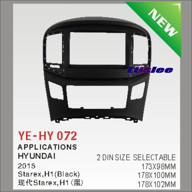 ФОТО For Hyundai Starex H1 2007~2015 Car Stereo Radio ABS Fascia Plate Panel Frame Kit / Stereo Facia Surround Install Trim Fit Dash