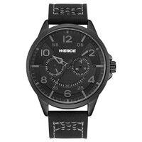 Weide топ роскошный спортивный Бизнес Повседневный бренд черный PU женский ремень из натуральной кожи аналоговые кварцевые кинетические часы