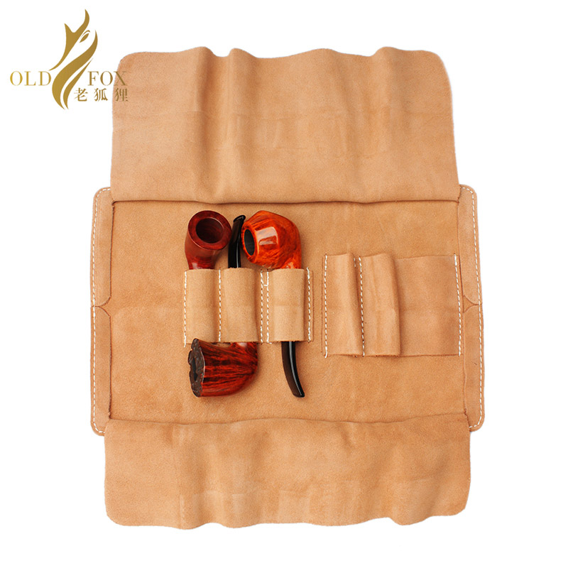 Leather tobacco pipe pouch (bag) 1