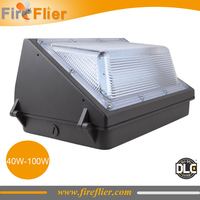 4pcs/lot wall pack led light 60w garden led lamp outdoor building wall lighting 70w 100w security lamp aisle corridor lobby DLC